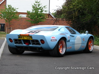 Ford Gt Recreation By Cav   Litre Ford V  Speed Manual Air Con   Reg