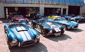 Sovereign Car Sales : Outside the Showrooms, a selection of used AC Cobras